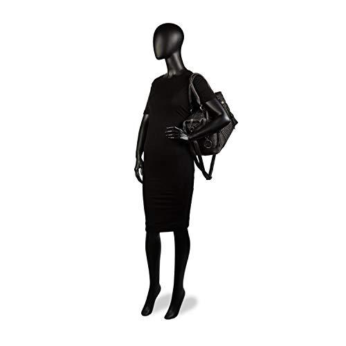 Noir pour Lois Sac bleu L à femme main marine w18txzq1C