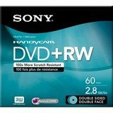 DPW60D - Sony DVD+RW Double Sided Media - 2.8GB - 1 Pack