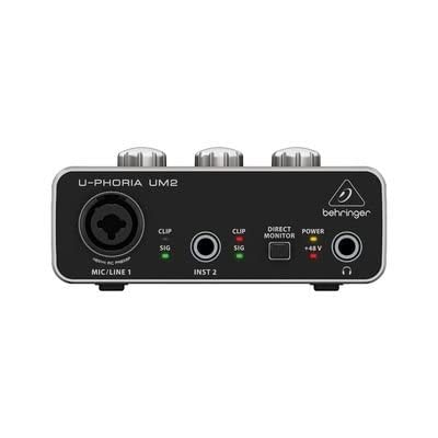 Behringer U-PHORIA UM2 2?x 2?interfacce audio USB 2.0