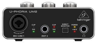 Behringer U-PHORIA UM2  2?x 2?interfacce audio USB 2.0