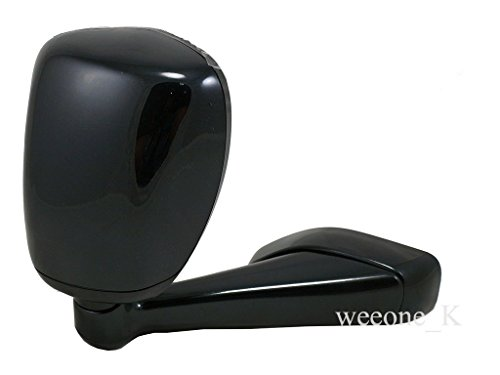Side Wing Fender Mirror 2 View Black Color Toyota Hilux Vigo MK6 2005-2011 (For Right Hand Driver)