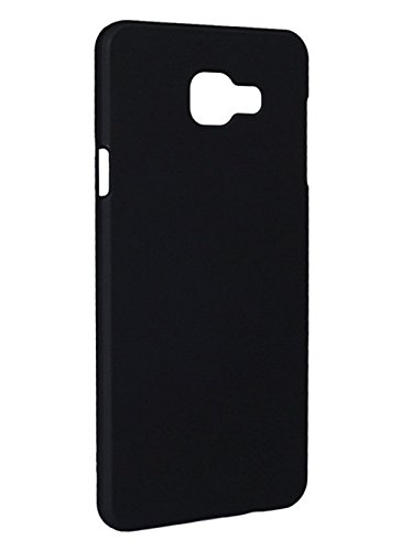 san francisco 2acfe 5465f Case Creation TM Luxury Rubberised Matte Hard Case Back Cover for Samsung  Galaxy A5 (2016) SM-A510 / SamsungA5 2016 Color - Dark Pitch Black