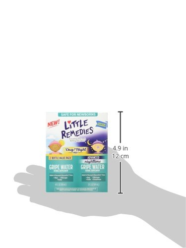 Little Remedies Day & Night Gripe Water Value Pack | Herbal Supplement | 2 Bottles | Gently Relieves Stomach Discomfort from Gas, Colic, and Hiccups | Safe for Newborns by Little Remedies (Image #6)