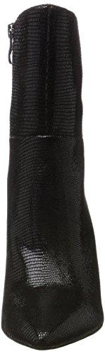 Caprice 25300, Botas para Mujer Negro (Black Reptile)