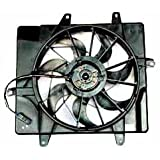 TYC 620440 Replacement Radiator/Condenser Cooling Fan Assembly for Chrysler PT Cruiser