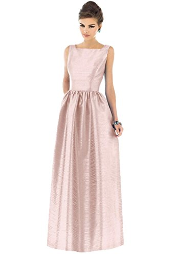 Alfred Sung Bridesmaid Dress for Women in Pearl Pink, 8 D519 - Alfred Sung Bridesmaid Gowns