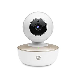 Motorola MBP88CONNECT Portable Wi-Fi Video Baby Camera with Remote Pan, Tilt, Zoom, Two-Way Audio, and Room Temperature Monitoring