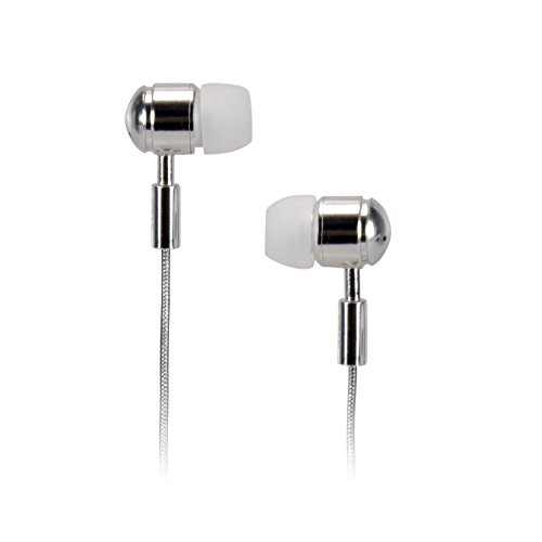 TDK Life on Record EB760 In-Ear Bass Boost Headphones Chrome