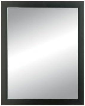 NuTone 781013 Hudson Recessed Mount Framed Medicine Cabinet, 14 by 18-Inch, Matte Black