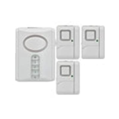 Jasco Products 51107 Security Alarm Kit, 4-Pc. from Jasco Products