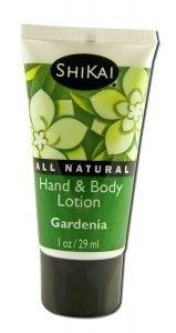 (Shikai Products Hand and Body Lotion, Gardenia, 1 Fluid Ounce)