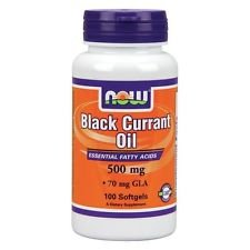 Black Currant Oil 500mg Now Foods 100 Softgel (1)