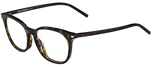 YVES SAINT LAURENT Eyeglasses SL 38 0086 Dark Havana (Yves Saint Laurent Eyeglasses)