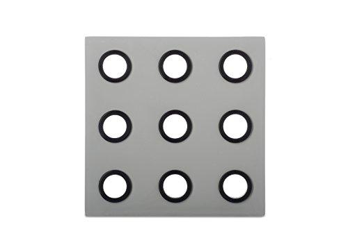 MEPAL Domino Trivet Melamine Grey 16.2x 16.2x 0.8cm ()