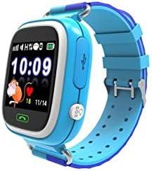 INKASUS Kid Safe - Reloj de Pulsera con Bluetooth, para niños, Color Azul