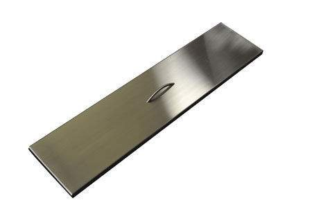 Hearth Products Controls (HPC) Rectangular Stainless Steel Fire Pit Cover (TPHC-36SS), 40x9.5 Inch