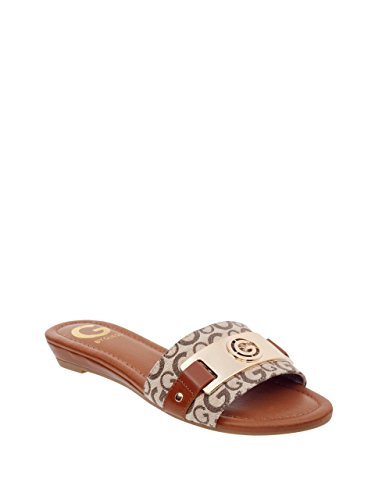 G by GUESS Women's Jeena Logo Slides by G by GUESS