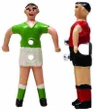 Jugador futbolin presas barra 14mm rojo: Amazon.es: Deportes y ...
