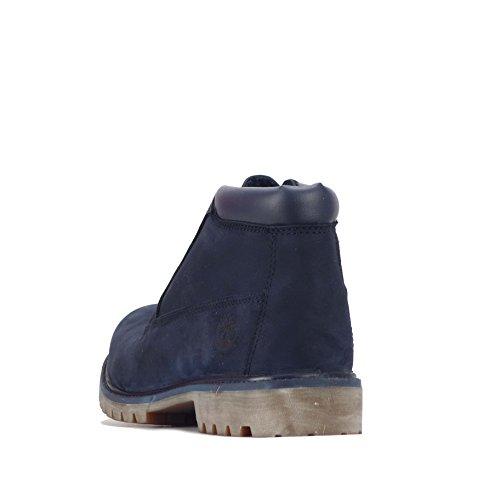 Timberland  Timberland Nelson Premium Mens Chukka Boots, Herren Stiefel blau navy 44.5 EU