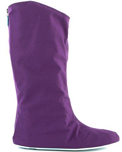Women's Go Snow Violet Belle Overshoes Rain Go Golosh 1rxwfWqrE