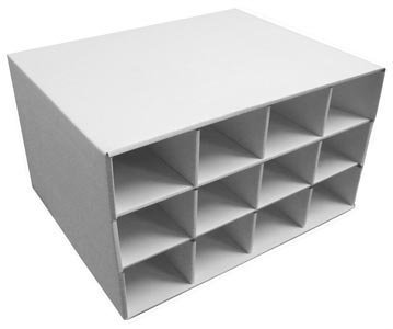 Card House Storage Box 12 800-Count Storage Boxes by BCW