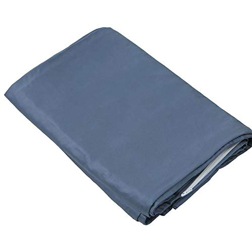 DensityComfort Duvet Cover for Weighted Blanket | Adult 48x72 | Cooling Bamboo | Cool Grey | Machine Washable
