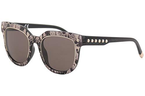 Calvin Klein Plastic Frame Brown Lens Ladies Sunglasses CK3202SS333265220674 Calvin Klein Plastic Frames