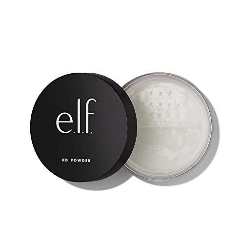 e.l.f. Cosmetics High Definition Powder Loose Powder, Lightweight, Long Lasting Creates Soft Focus Effect, Masks Fine…