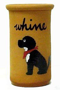 Portuguese Water Dog Whine Cooler
