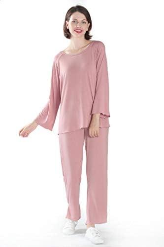 Pijamas Mujer Camisón Conjunto De Pijama Suelto Conjunto De ...