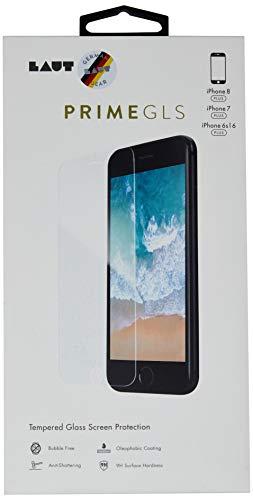 Pelicula Protetora de Vidro Transparente, Iphone 8/7/6/6S Plus, Laut, Película de Vidro Protetora de Tela para Celular, Transparente