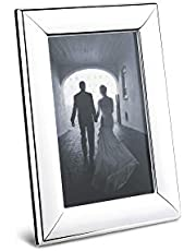 Georg Jensen 3586952 Modern Mirror Polished Stainless Steel & Plastic Picture Frames, 10cm x 15cm