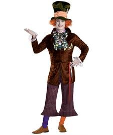 Disguise Men's Mad Hatter Prestige (Movie),Multi,XL (42-46) Costume (Men Mad Hatter Costume)