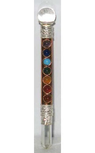 metapot.com Crystal Healing Wand: Chakra Mini Copper 7 ()