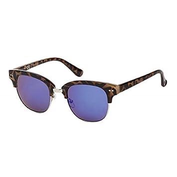 Sonnenbrille Metall Bügel Rahmen eckiges Cat Eye 400 UV getönt verspiegelt 4tfseFzh
