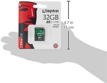 Kingston Industrial Grade 32GB Fly DS104D MicroSDHC Card Verified by SanFlash. 90MBs Works for Kingston