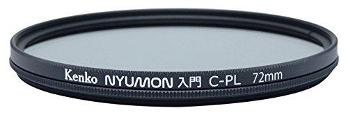 Kenko Nyumon Wide Angle Slim Ring 72mm Circular Polarizer Filter, Neutral Grey, compact (227250)
