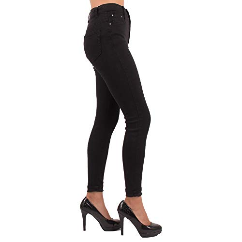 Primtex Jeans Donna Primtex Nero Alto Jeans rqxn0fErz