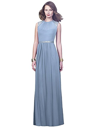 (Dessy Collection Style 2921 - Cloudy - Size 6)