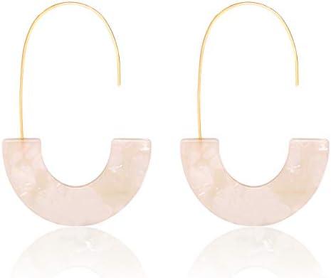 MOLOCH Acrylic Earrings Statement Tortoise product image