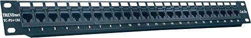 TRENDnet 24-Port Cat5/5e Unshielded Wallmount or Rackmount Patch Panel, TC-P24C5E