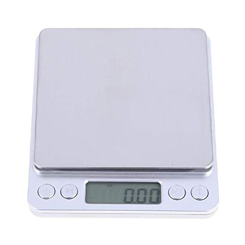 Electronic Digital - 1kg 0.1g Electronic Digital Scales Portable Precision Jewelry Balance Weighing - Fm/am Target Digital Case Metal Jewelry Depth Frame Meat Radio Adapter Electronic Door ()