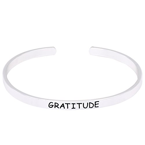 O.RIYA GRATITUDE Bracelet (White) - Couples Batman Necklace
