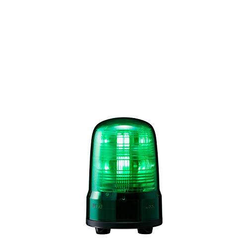 パトライト 回転灯 SF08-M1JN-G Φ80 DC12~24V 発光パターン(22種) 緑色 3点ボルト足取付