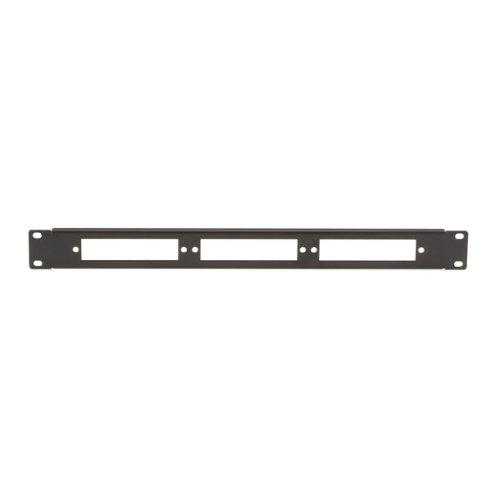 Fiber Black Box (Black Box Fiber Optic Panel, Blank, 1U, 3-Slot)