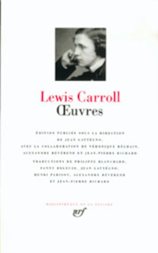 lewis-carroll-oeuvres-bibliotheque-de-la-pleiade-french-edition
