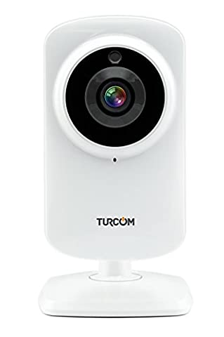 Turcom Home Security Camera Wireless IP HD System for Baby/Nanny Cam Security Surveillance, Comes with Night Vision, Two Way Audio, WiFi, Connects to iPhone, Tablet, or Android, White - 624 Systems