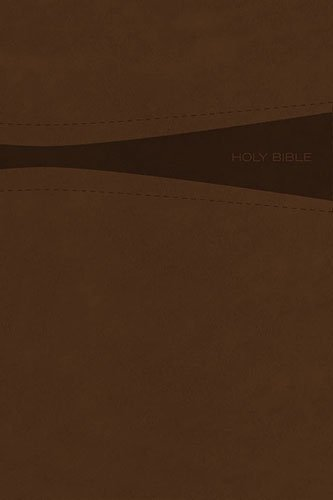 Amazon holy bible giant print toffee leathersoft red holy bible giant print toffee leathersoft red letter edition read along negle Choice Image