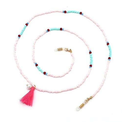 Colorful Beaded Eyeglass Chain Women