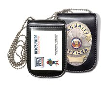 (Hero's Pride Universal Magnetic Badge and Id Holder)